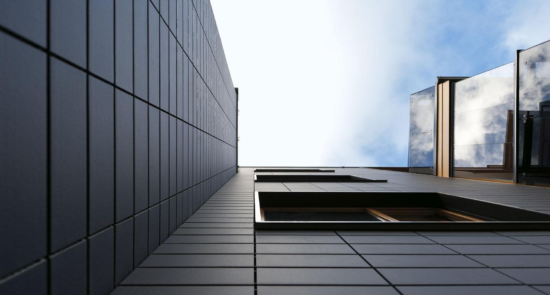 KerAion facade panels  Ventilated curtain-type facades